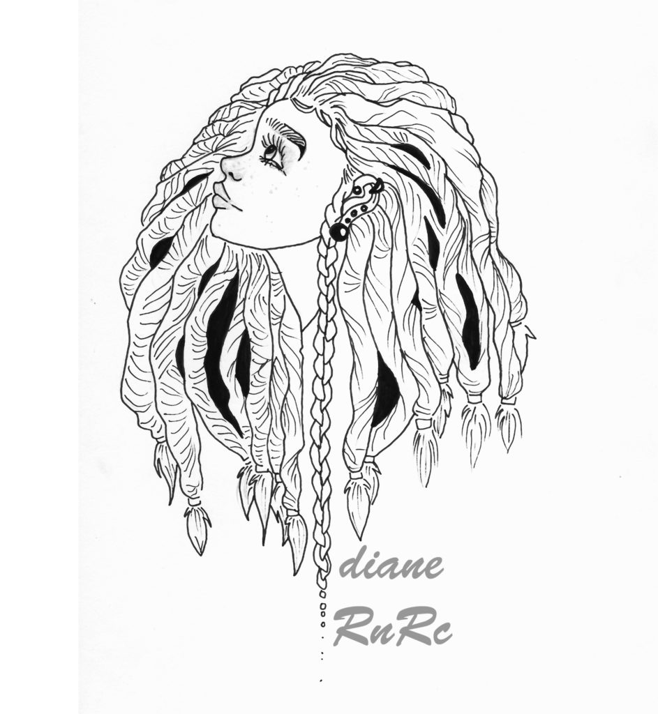dreadhead girl